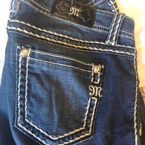 Miss Me mid-rise super skinny jeans